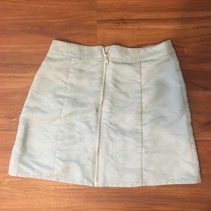 Forever 21 light blue soft skirt